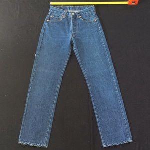 Vintage 80-90's Levi 501 jeans USA made